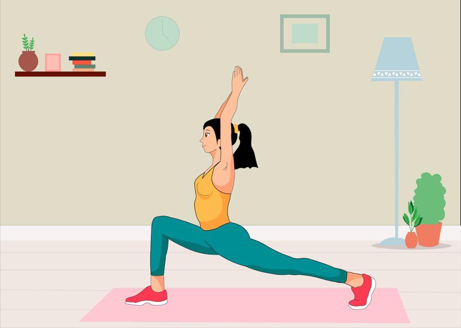 Ćwiczenia ruchowe w domu.